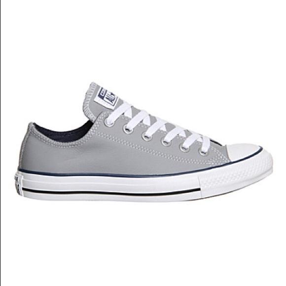 Women's size 6.5 grey converse NEW